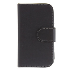 PU Leather Flip Open Case Cover with Card Slots for Samsung Galaxy S3 Mini I8190