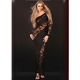 Women's Lace Transparent Sexy Dress