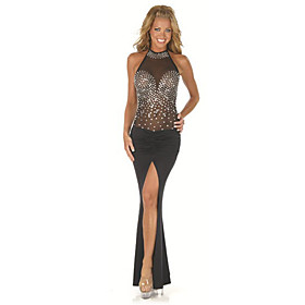 Women's Sheer Fashion Show Dress