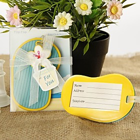 Flip-Flop Luggage Tag Favor