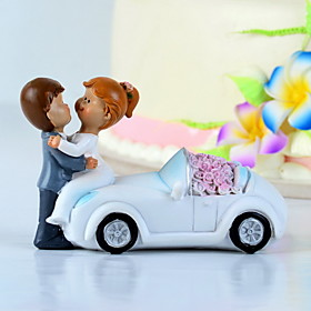 Elegant Bride Groom Cake Topper