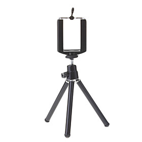 Mini Tripod Stand Holder Til Mobile Cell Phone Camera Som Iphone 4/4s/5/5s/5c Og Samsung Galaxy S2/s4