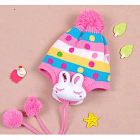 Chapeau de lapin oreille protégé de fille