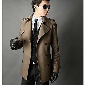 Slim Varm Trench Coat