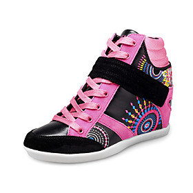 Women's Leatherette Dance Sneakers For Ballroom(More Colors)