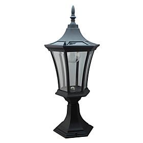 6PCS hvid LED Solar hegnsp?l Light Garden Light