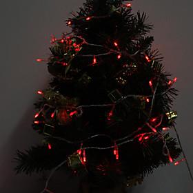 Outdoor 10M 100-LED Red Light LED Strip Light Decoration Lamp (220-240V)