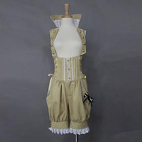 Pants Sweet Lolita Lolita Cosplay Lolita Dress Beige Solid Lolita Lolita Dress For Women Cotton