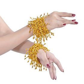 Prestaties dancewear Kralen buikdans armband voor dames meer kleuren (1 Paar)