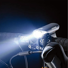 5 Led Bicycle Black Safety Front Light (4 X Aa)