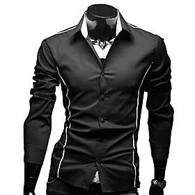 Slim Fit Fritid skjorte