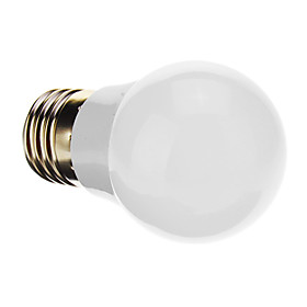 E27 1W 1xHigh Power 90-100lLM 2800-3500K Warm White Light LED Globe Blub (85-265V)