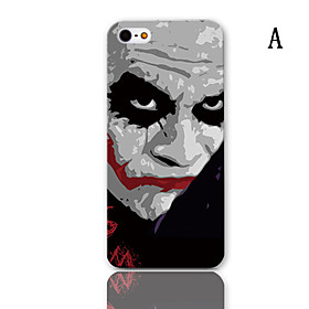 Cartoon Car Series Pattern Hard Case with 3-Pack Screen Protectors for iPhone 5/5S