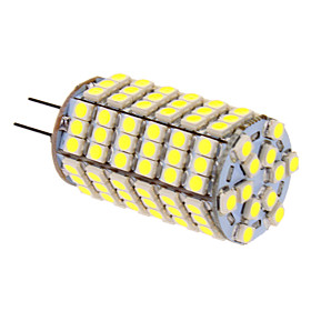 7W G4 LED Corn Lights T 118 SMD 5050 580 lm Cool White DC 12 V