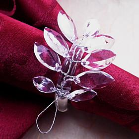Leaf Napkin Ring, Acrylic