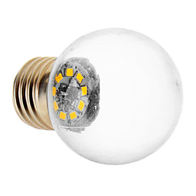 1.5W E26/E27 LED Globe Bulbs 9 SMD 2835 90 lm Warm White AC 220-240 V