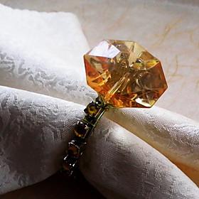 Diamond Design Napkin Ring, Acrylic