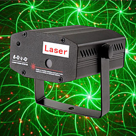 Firefly Twinkling Laser Patterns lydkontroll Stage Lighting