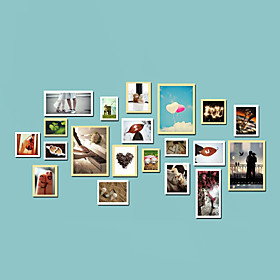 Modern Style Photo Wall Frame Collection - Set of 20