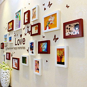Creative Photo Wall Frame Collection - Set of 18