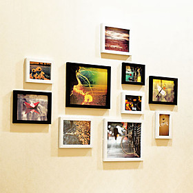 Novel Miss Theme Photo Wall Frame Collection - Set of 10