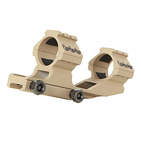 Mud Color Single Fishbone Style Scope Mount 30mm Caliber