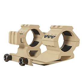 Mud Color Double Fishbones Style Scope Mount 30mm Caliber