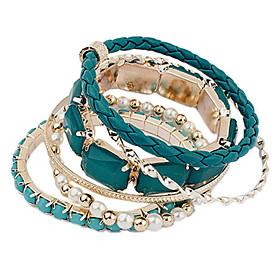 Armreifen Armband mehrschichtigen europaischen Mashup Armband