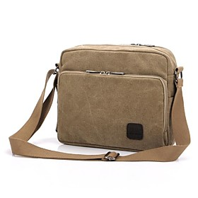 Men's Bags Canvas Crossbody Bag for Casual