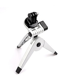 Universal Portable Tripod Stand Holder Med Mount Til Gopro Hero 2/3/3