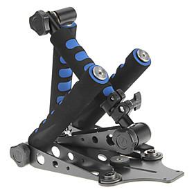 DSLR Rig Movie Kit originale supporto della spalla per qualsiasi macchina fotografica di DV Canon / Sony / Nikon / Panasonic (blu)