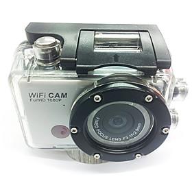 5.0MP HD pieno 1080P 50M impermeabile del casco di azione di sport WiFi della macchina fotografica DV Camcorder