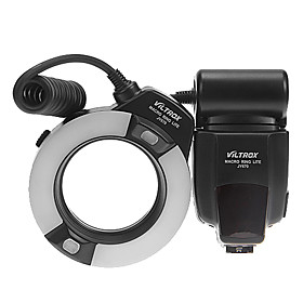 Viltrox Jy 670 Professional Macro Ring Flash Light Lite Til Canon / Nikon / Sony
