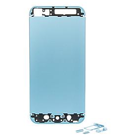 Bl? Metal Alloy Tilbage Battery Boliger Med Knapper Til Iphone 5