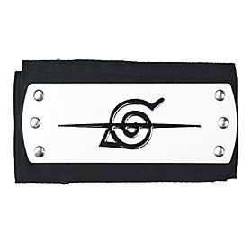 Jewelry / Headpiece Inspired by Naruto Cosplay Anime Cosplay Accessories Headband Alloy Men's Halloween Costumes