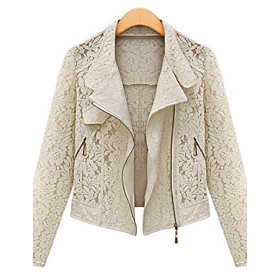 Kvinder Sexy Lace Jacket
