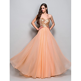 TS Couture Prom / Formal Evening / Military Ball Dress - Vintage Inspired Plus Size / Petite A-line / Princess Strapless / Sweetheart Floor-length plus size,  plus size fashion plus size appare