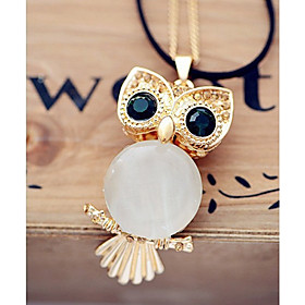 EGO Owl Shaped Necklace