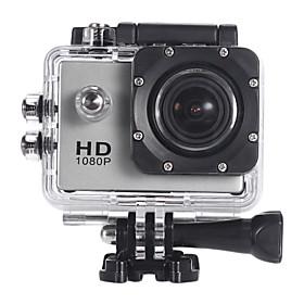 HD1080P-F23V Mini Action Camcorder (Argento)