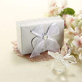 Clear Crystal Butterfly Wedding Favor