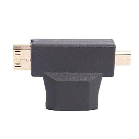 HDMI Female to Mini/Micro HDMI Adapter for Home Theater