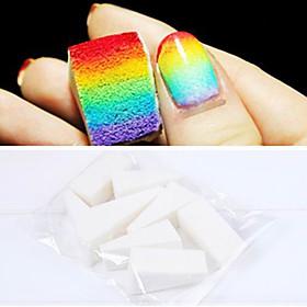 8PCS Professional Manicure Sponge Nail Art Tools for Gradient Color Nail ArtMulit-color Nail