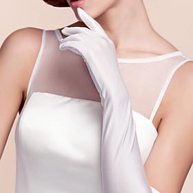 Opera Length Fingertips Glove Spandex Party/ Evening Gloves Spring Summer Fall