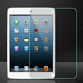 Anti-Shock Damage Protection Front Screen Protector with Microfiber Cloth and Scratch Card for Apple iPad Mini