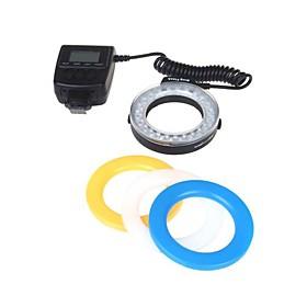 Rf 550d Macro 48led Ring Flash Lys Til Canon Nikon Pentax Olympus Panasonic Dslr