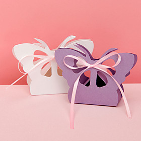 Butterfly Favor Box With Cut-outs (Set of 12)