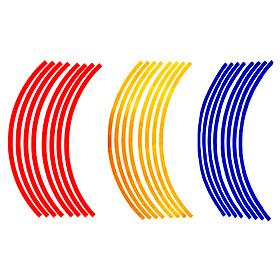 CARMARS Bil / Motorcykel Reflekterende Stickers  4