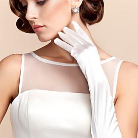 Opera Length Fingertips Glove Satin Bridal Gloves Party/ Evening Gloves Spring Fall Winter