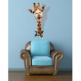 3D TheGiraffe Wall Stickers Wall Decals