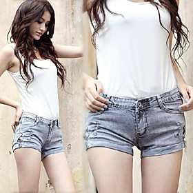 Damenmode Sexy Jeans-Shorts